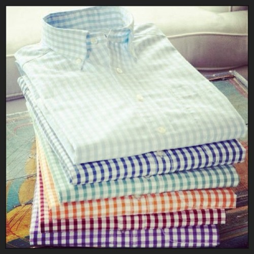 #GINGHAM #shirts #fashion #style #menswear #color