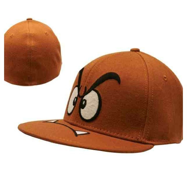 Wear one of these Goomba hats but becareful no plumbers jump on your head :O lol