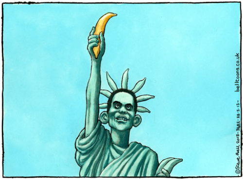 Steve Bell on David Miliband's resignation as an MP -(via cartoon | Comment is free | The Guardian)