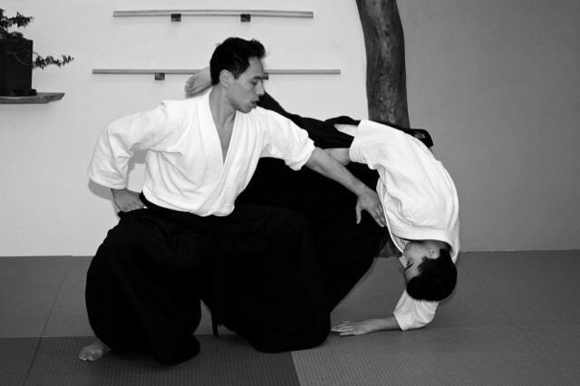 T. Toyoda Sensei at Mill City Aikido.