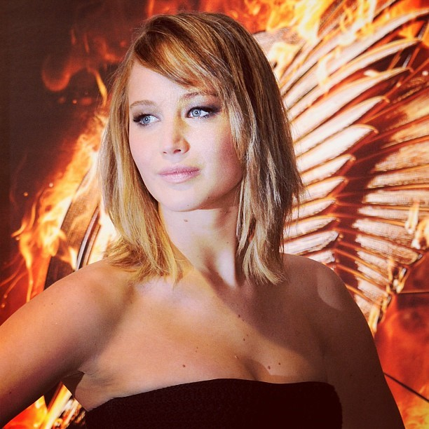 Jennifer Lawrence - Jennifer Lawrence, on fire at #Cannes2013! - #CannesCatchingFire #TheHungerGames
