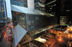 seattle-wa:  Seattle Public Library by Dougerino on Flickr.