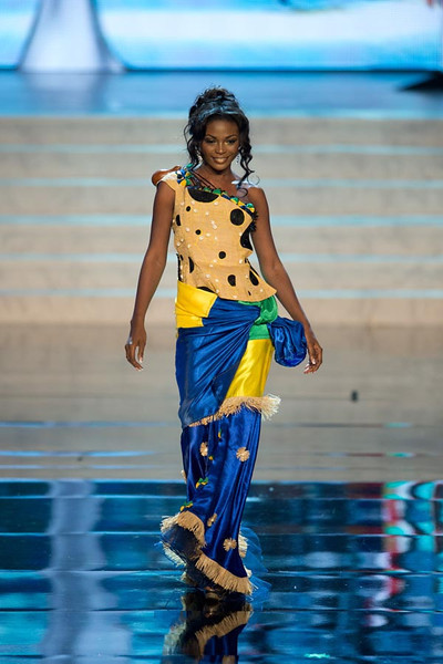 Miss Universe Gabon.