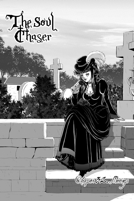 """THE SOUL CHASER"" 32: ""MEETINGS"" IS FULL AND COMPLETE ON MANGAMAGAZINE!!  Read the complete chapter now! :D Available on TAPASTIC too!"