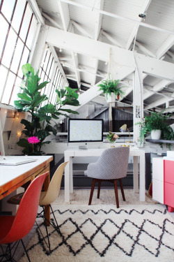 theglitterguide:  (via Inside The Stylish Office Of Design Love Fest | theglitterguide.com)