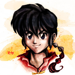 So, here's the result of my Livestreaming session :3 Ranma ♥