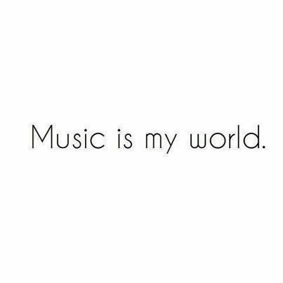 mochacafe:  (via/follow MOST NOTED POSTS)  music is my world. music is my life.