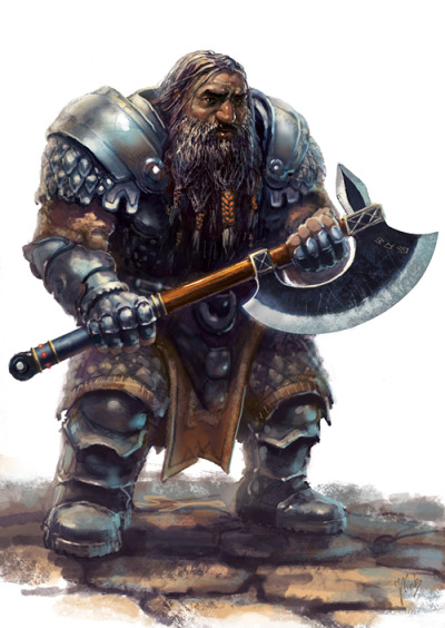 "art-of-the-dwarves:  ""Amfisbena-Dwarf"" by Gabahadatta."