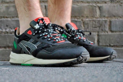 sweetsoles:  Patta x Asics Gel Saga (by Chris Hudduh)