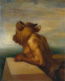 didoofcarthage:  The Minotaur by George Frederic Watts 1885 oil on canvas Tate Britain
