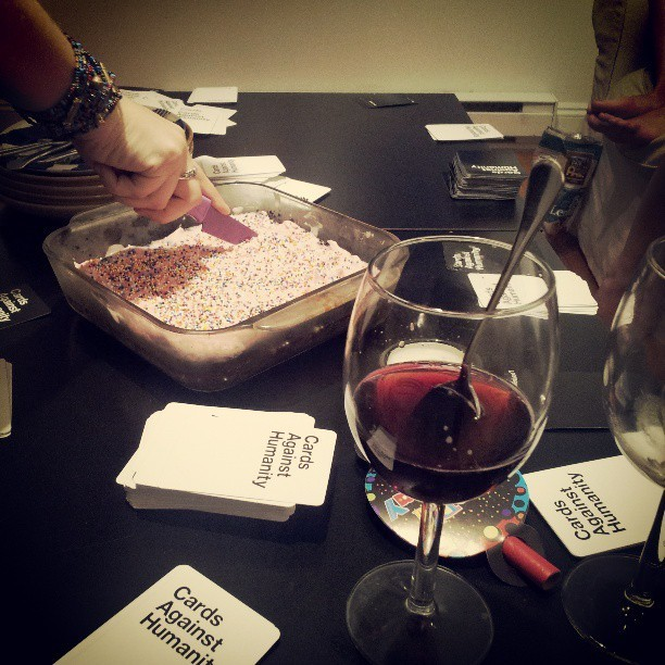 Sangria, Cards Against Humanity and quinoa chocolate cake kind of birthday! @ashleighanneaton
