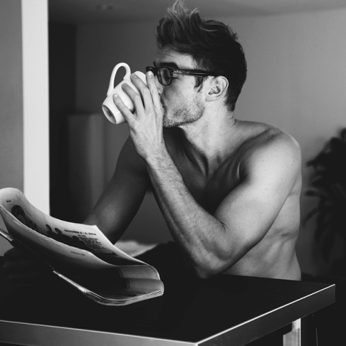 Yeah!I need my glassesTo see How much of my coffee is still leftIn my little cup.~randomz~
