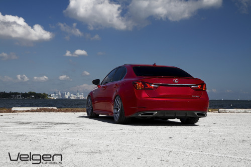 Scheming Starring: Lexus GS350 FSport (by VelgenWheels)