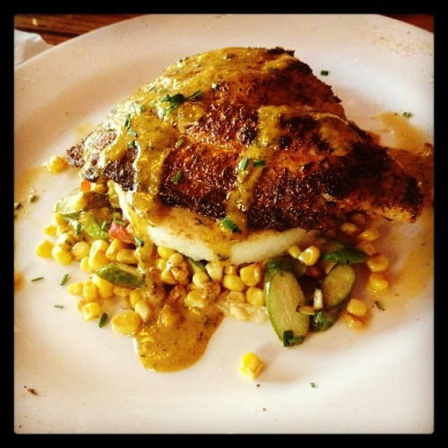Mmmmm Cajun catfish! #springstreetnatural #nyc