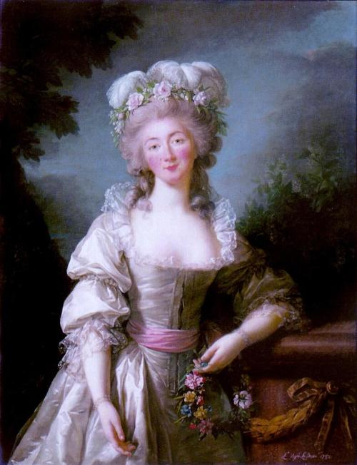 """Madame du Barry"", (1782) by Louise-Elisabeth Vigée-Lebrun."