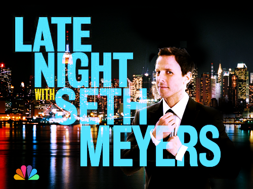 livefrommyhouse:  Late Night With Seth Meyers