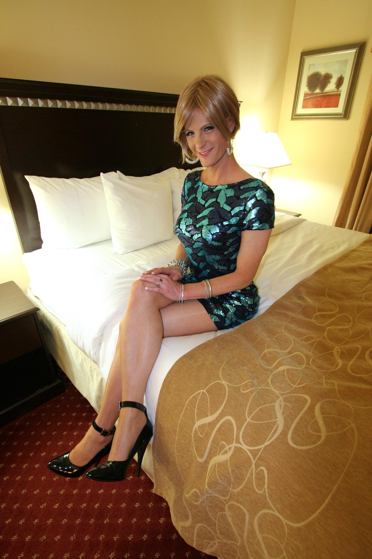 Frilly Sissy Tumblr throughout amazing sissy in sparkly aqua dress   stephanie   pinterest