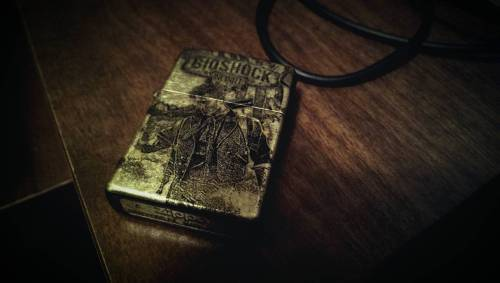 pxlbyte:  The Coolest Bioshock Infinite Lighter I don't even smoke and I want this. Available on Etsy