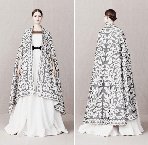 closetsoftheredkeep:  For Sansa Stark from Alexander McQueen Pre Fall 2013.