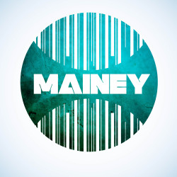 Logo design for upcoming RNB artist Mainey http://www.behance.net/liam_edwards www.facebook.com/liamedwardsdesign
