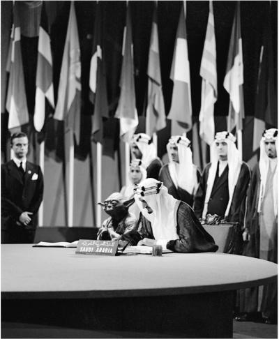 kawrage:  The late Saudi king Faisal. With Yoda.