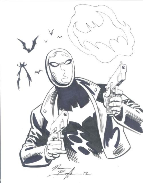 Norm Breyfogle finally draws Red Hood in a commission. Previously, he drew Jason as Robin in 'Tec in the 80s. Okay so maybe it was a Clayface as Jason but I still count it.