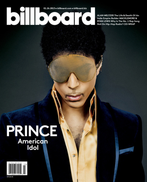 Snapshot: Prince for Billboard Magazine