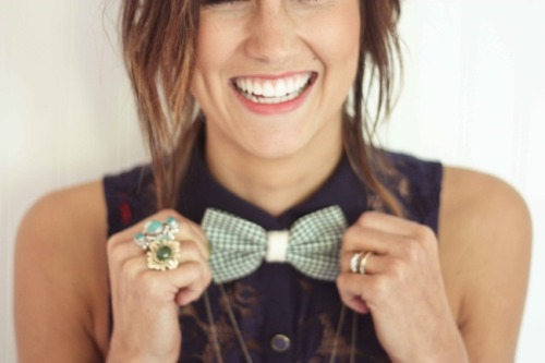 Is this a stock photo of a girl in a bow tie? I like it. xoxo, GIABT