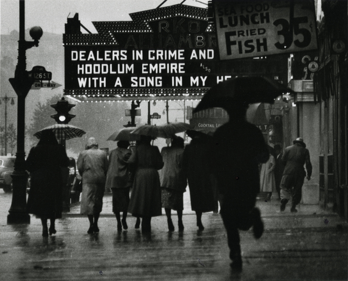 Harlem neighborhood, 1952. By Gordon Parks