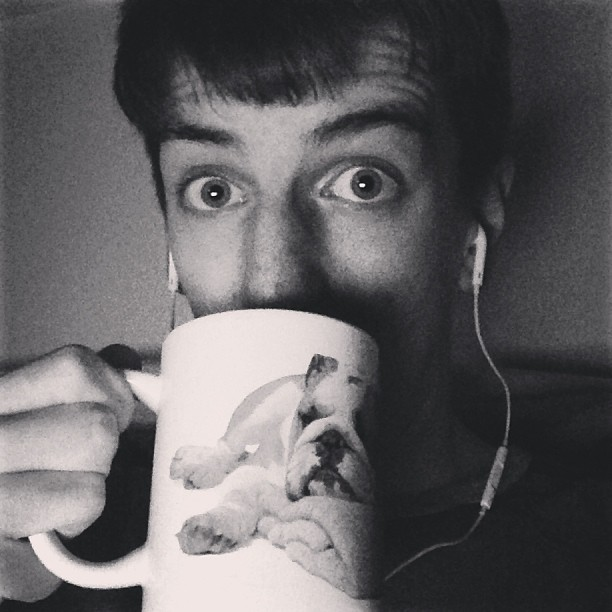 All of the lights #myface #me #tea #bed