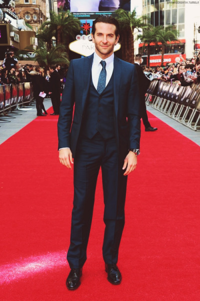 Bradley arrives at the UK premiere of The Hangover Part III in London [22.05]