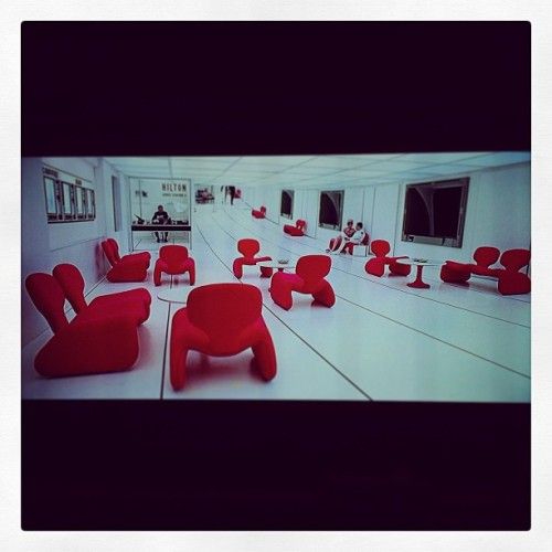 All airports should look like this #50s #space #film #2001 #spaceOdyssey