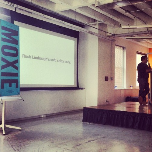 ='s a thousand words. @MaxTemkin @ #moxiecon (at 1871)