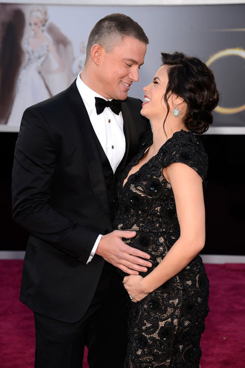 baltimorelove:  Channing Tatum and Jenna Dewan at the Oscars
