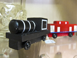 In Shop: Toy Train and Carriage £5