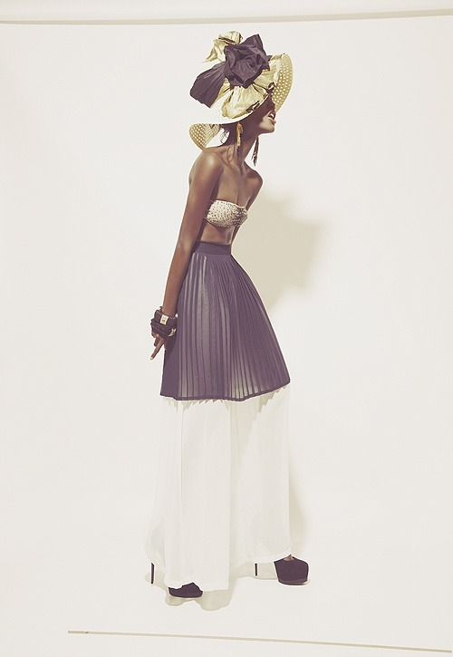 devoutfashion:  Milan Dixon Summer Fashion story by Robert John Kley