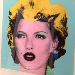 #banksy #katemoss #marilyn #warhol #reflectionsinpaintings by artificialgallerylondon http://bit.ly/XQXyss