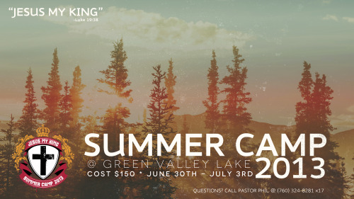 Summer Camp - SIGNUP TODAY!