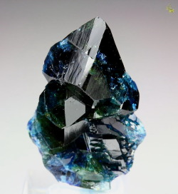 drusy:  Lazulite from Rapid Creek, Canada