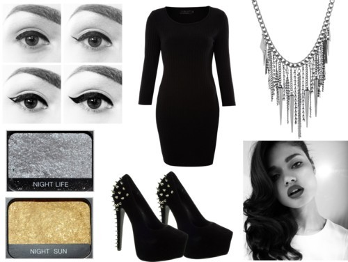 New years eve by eatsomemakeup featuring platform pumps