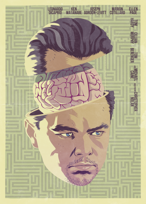 INCEPTION (2010) Take a closer look at the brain… ^_- FOLLOW ME STORE ————————get your work featured by submitting it to designersof.com