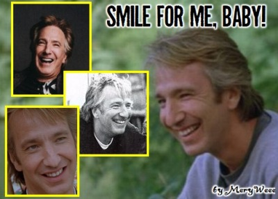 batholomu:  Alan Smile by ~Meryweee  Gosh I love his smile
