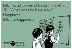 lostinablog:  Bacon happiness