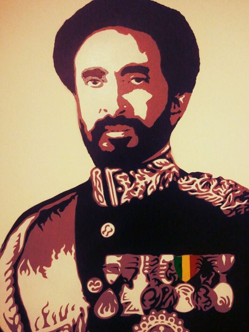 Rastafari   King Haile Selassie  Photo by Maxx Jones