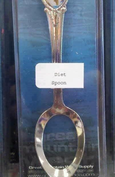 I call it a spol. Spoon with a hole.