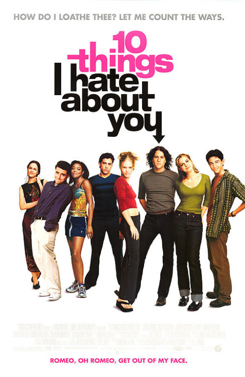 Movie Bucket List Entry #18: 10 Things I Hate About You (1999)