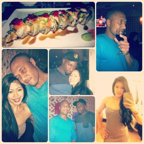 A night out with @bizzy771 and friends. #frameartist #toronto #night #sushi #food #igers #igdaily #igaddict #ignation #instafun #instamob #instapic #instacool #instagood #instalove #instadaily #picoftheday #phoneography #iphoneonly #iphoneography