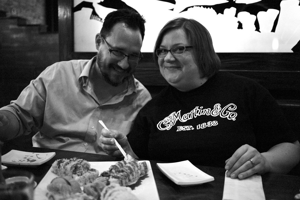 Darin and Meg, May 17, 2013 by Maggie Osterberg http://flic.kr/p/ekGyjU