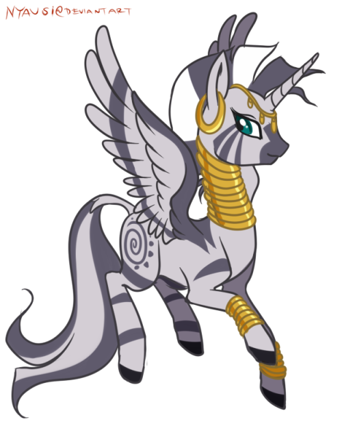 Alizebra!   Here we have our lovely zebra, Zecora, being all alizebray!