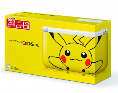 gamefreaksnz:  Pikachu themed 3DS XL headed to North America  Nintendo has announced that a Pikachu-themed Nintendo 3DS XL will be available in the US on March 24, 2013.  WANT